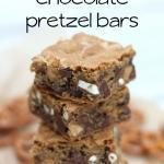 Peanut Butter Chocolate Pretzel Bars Recipe