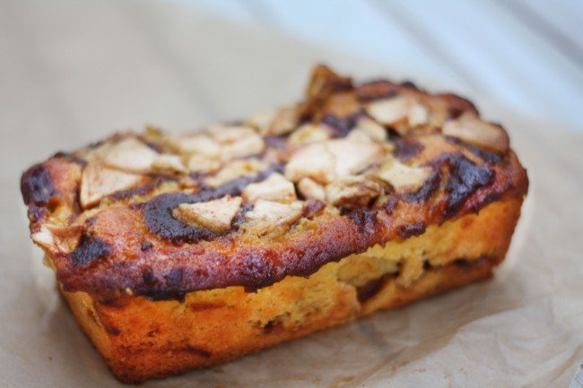 Pumpkin Jewish Apple Cake