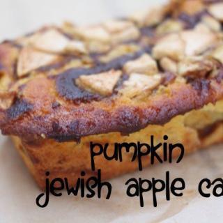 Pumpkin Jewish Apple Cake Recipe
