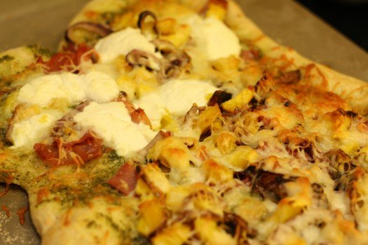 Roasted Acorn Squash Pizza Recipe 2