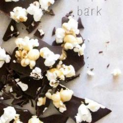 Salted Caramel Popcorn Bark Recipe