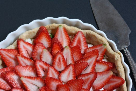 Stawberry Basil Goat Cheese Tart Recipe1
