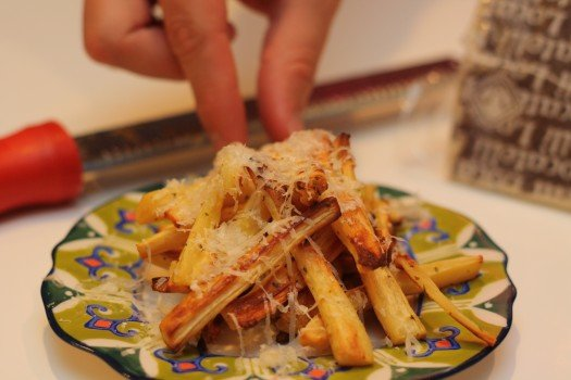 Truffle and Parmesan Parsnip Fries Recipe 2