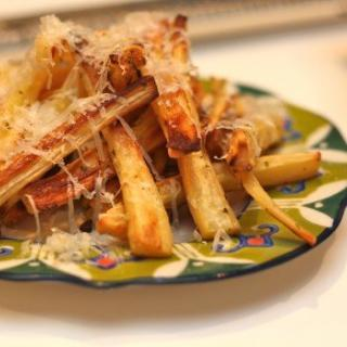 Truffle and Parmesan Parsnip Fries Recipe