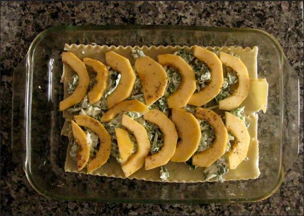Acorn Squash and Spinach Lasagna Recipe 2