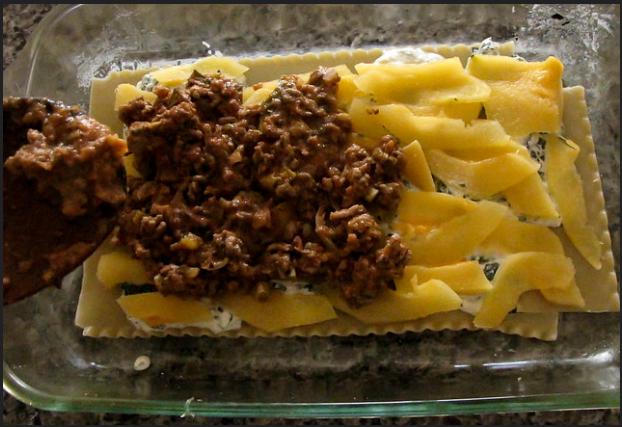 Acorn Squash and Spinach Lasagna Recipe 3