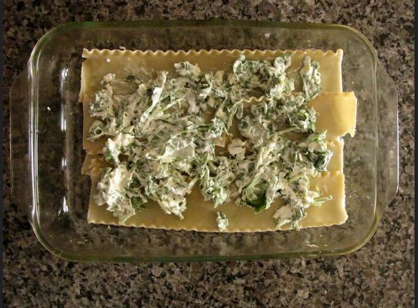 Acorn Squash and Spinach Lasagna Recipe 1