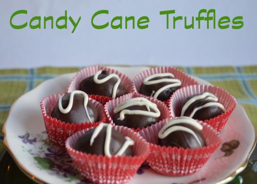 Candy Cane Truffles Recipe