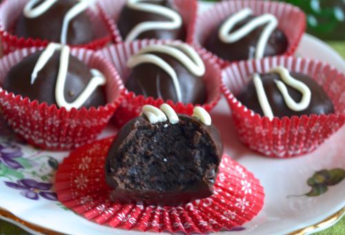 Candy Cane Truffles Recipe 1