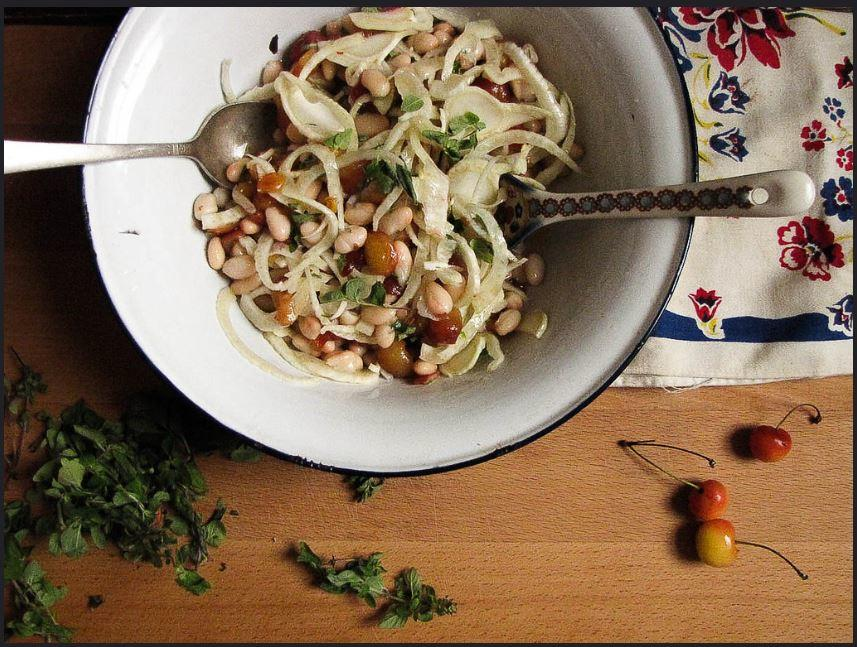 Cherry, Fennel and White Bean Salad Recipe 2
