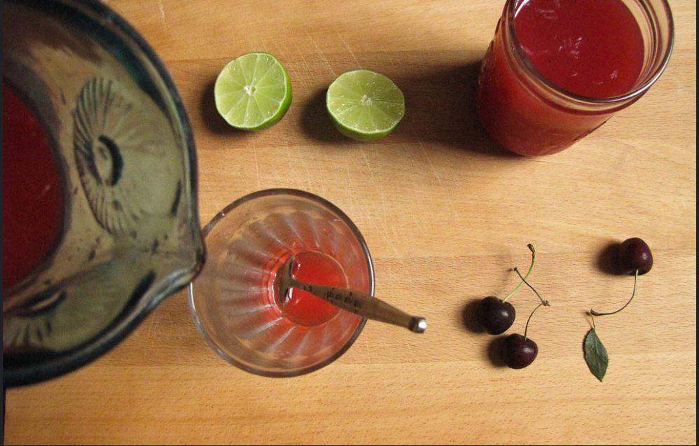 Cherry Limeade Recipe 1