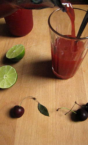Cherry Limeade Recipe 2
