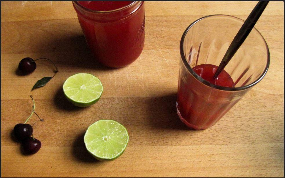 Cherry Limeade Recipe 4