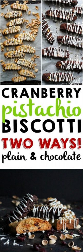 Zesty Cranberry Pistachio Biscotti TWO WAYS! 10