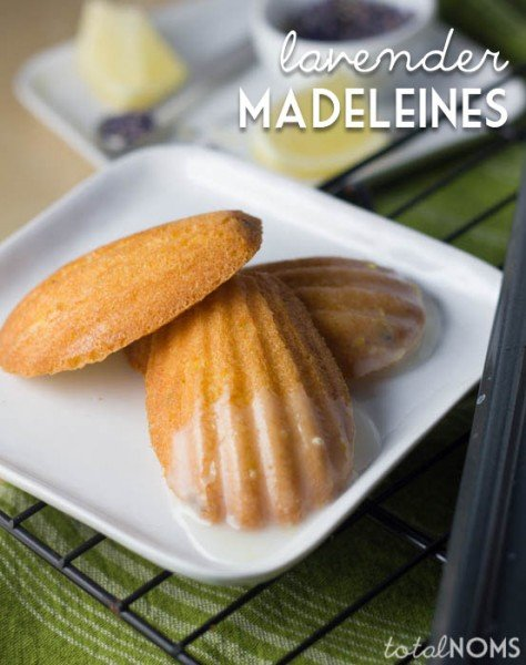 Lavender Madeleines with Lemon Glaze 1