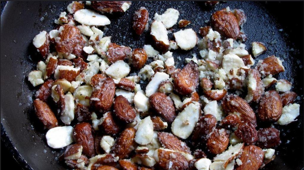 Salted Almond Honey Brittle Recipe 4
