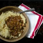 Chorizo Stew and Creamy Grits Recipe