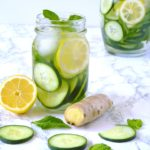 Fresh Ginger and Mint Detox Juice Recipe