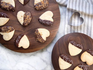 Chocolate Dipped cookie Recipe