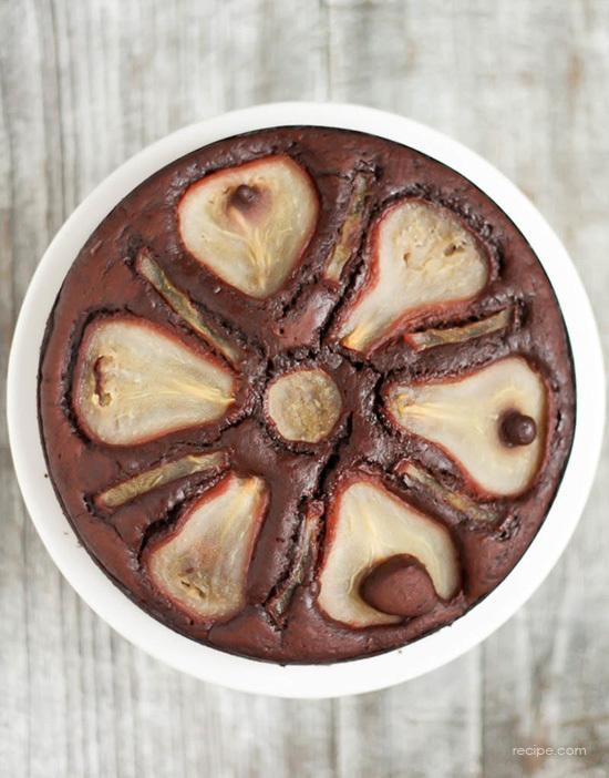 Chocolate Pear Torte Recipe 1