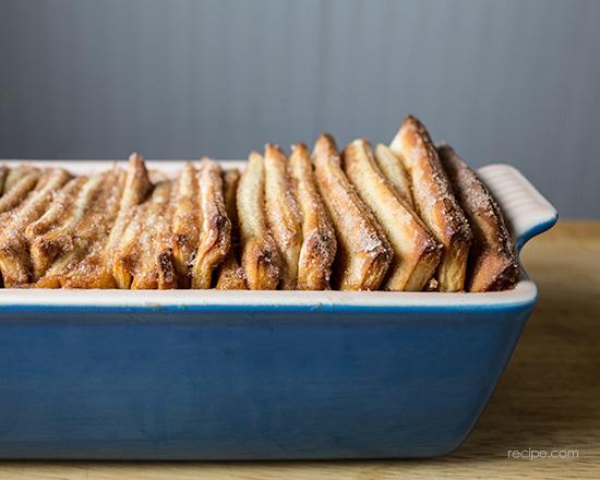 Overnight Pull-Apart Cinnamon Bread Recipe