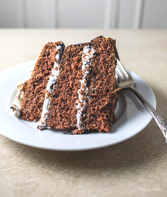 S'mores Cake Recipe 3
