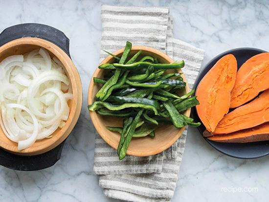 Sweet Potato And Spiced Chicken Fajitas Recipe 1