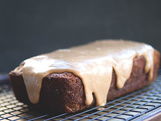 Apple Quick Bread With Spiced Icing 5