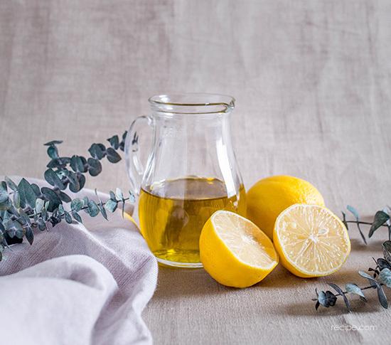 Lemon Olive Oil Cake With Lemon Cream Recipe 1