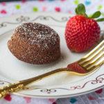 Chocolate Peanut Butter Molten Cupcakes