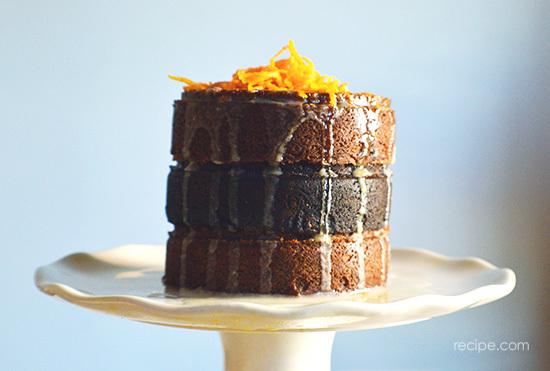 Vegan Dark Chocolate And Pumpkin Layer Cake 6