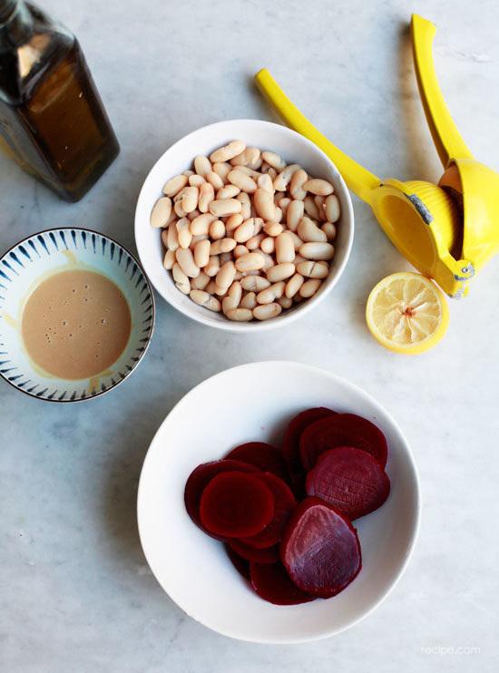 Colorful Beet Hummus Dip Recipe 2