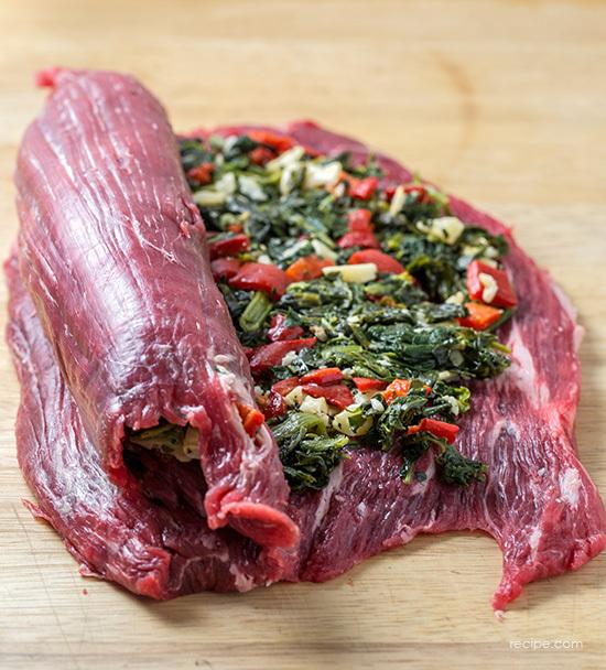 Stuffed Flank Steak Recipe 2