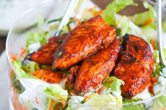 Buffalo Chicken Tenders Salad Recipe