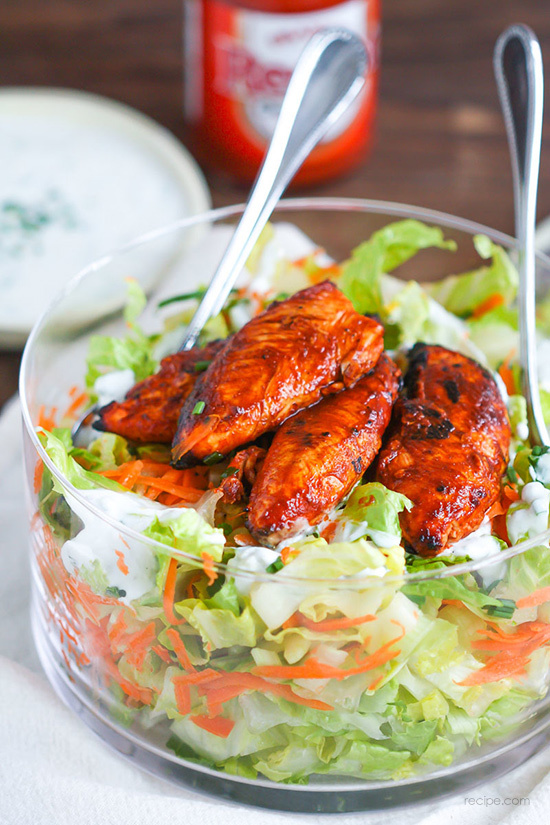 Buffalo Chicken Tenders Salad Recipe