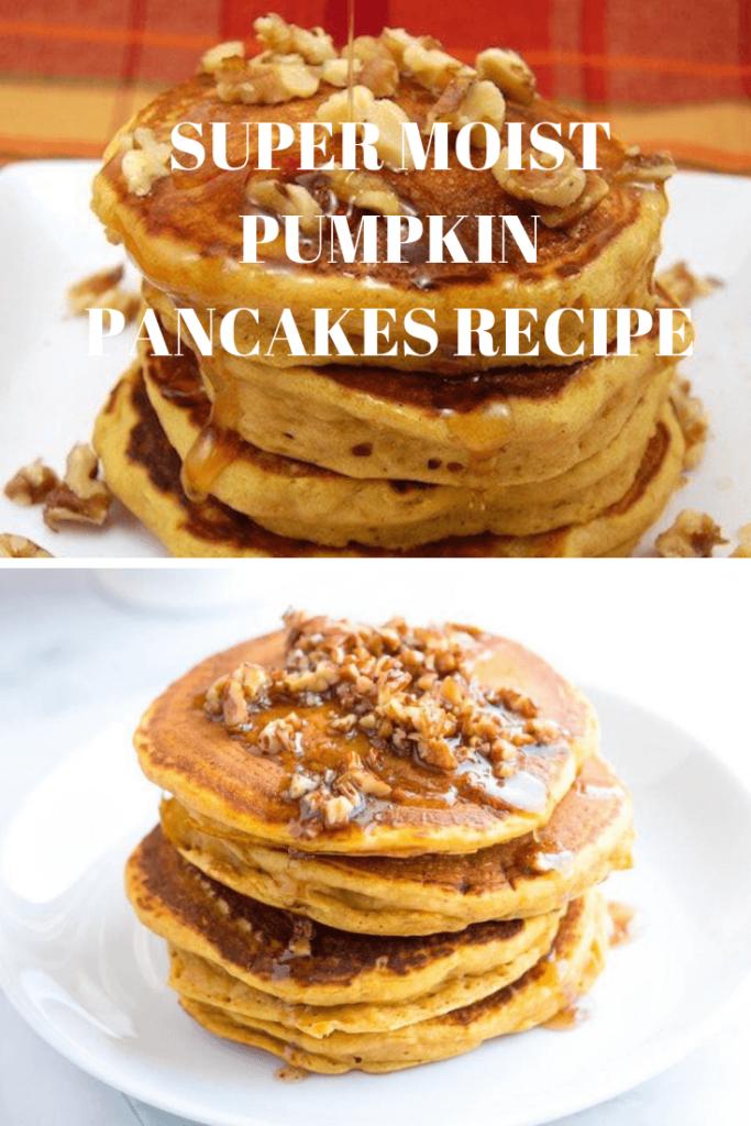 Super Moist Pumpkin Pancakes Recipe 1