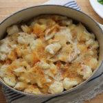 gluten-free cauliflower mac and cheese