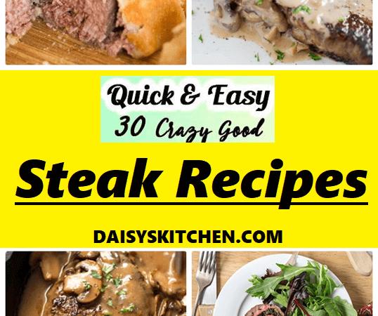 12 Steak Recipe