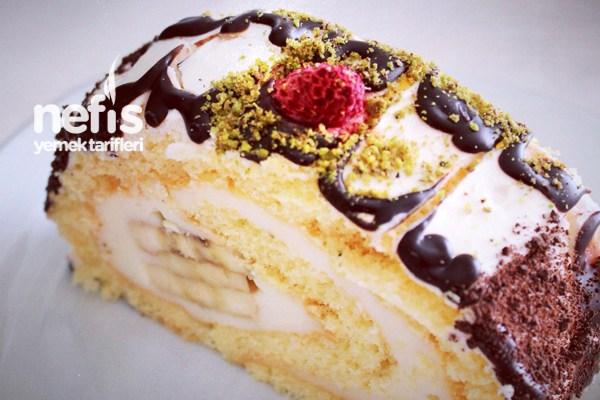 Banana Roll cake