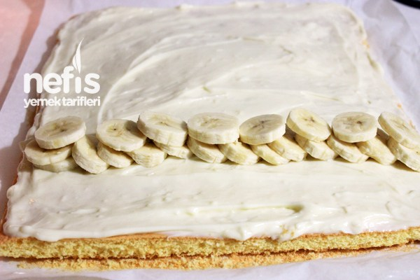Banana Roll Cake Recipe 4