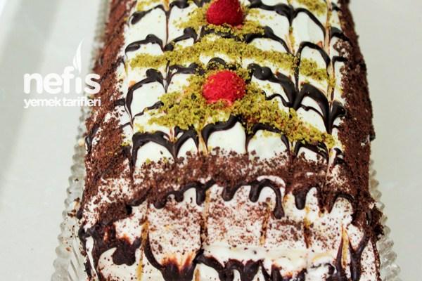 Banana Roll Cake Recipe 6