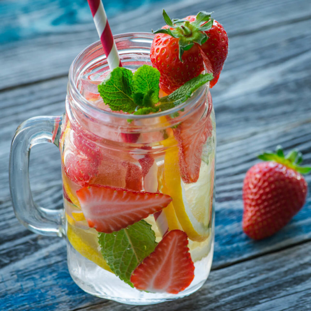 Strawberry and Clove Detox Water Recipe