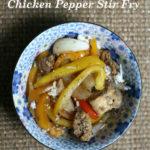 Chicken Bell Pepper Stir Fry Recipe