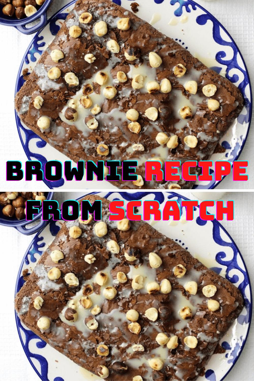 Brownie Recipe From Scratch