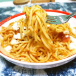tomato with pasta recipe is very yummy.
